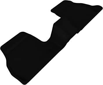Kagu Rubber 3D MAXpider Second Row Custom Fit All-Weather Floor Mat for Select Ford Explorer Models Black
