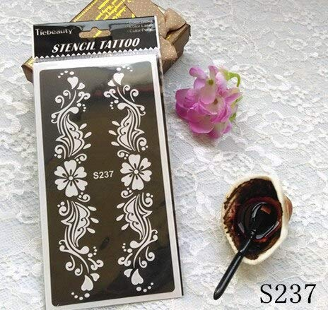 Henna Stencils 11pcs Different Models Henna Design Tattoo Stencil Henna Tatoo Template Body Painting Art