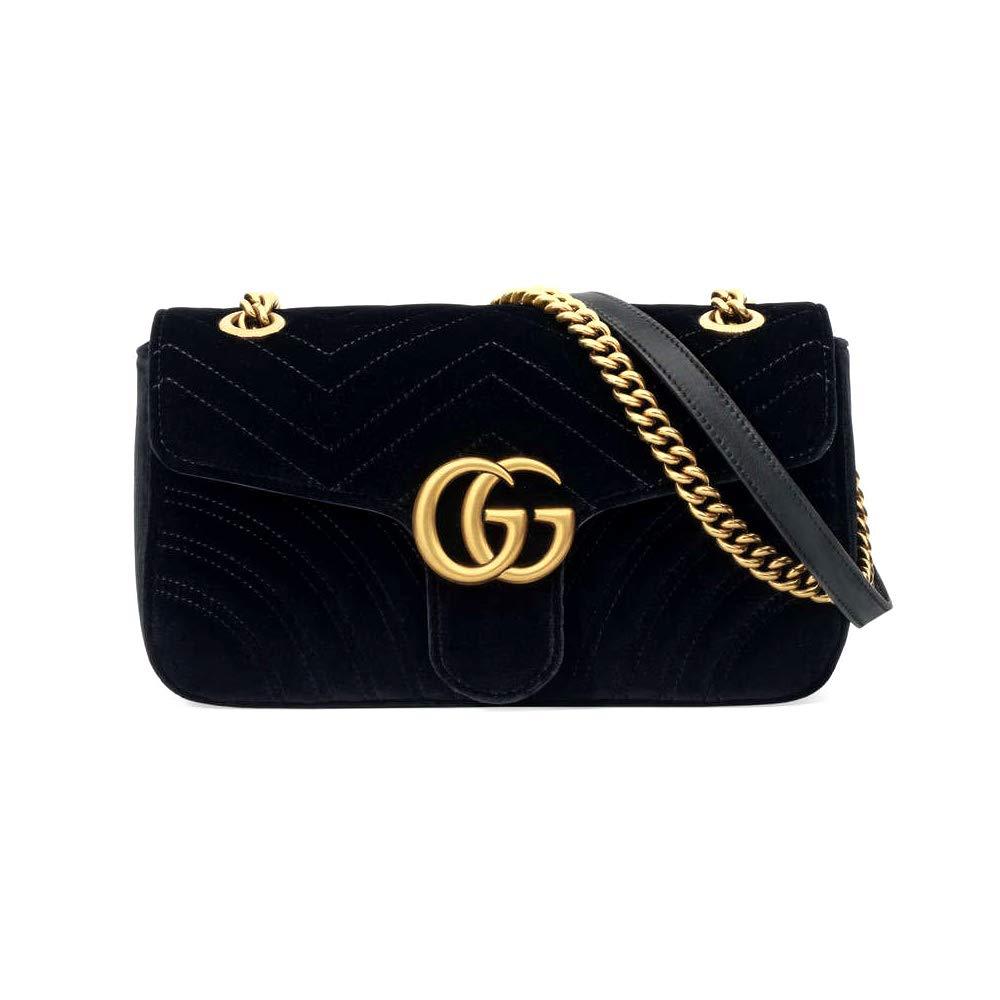 f0824f33158 manstyle-Gucci GG Marmont velvet shoulder bag  Handbags  Amazon.com