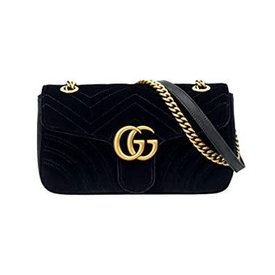 7e724767075a manstyle-Gucci GG Marmont velvet shoulder bag: Handbags: Amazon.com
