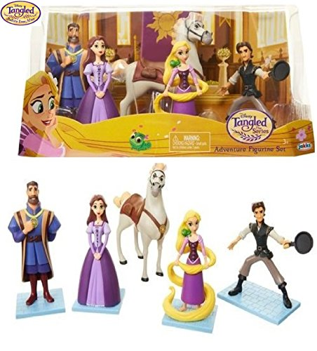 Adventure Figurine (Disney Tangled The Series - ADVENTURE FIGURINE SET - Relive and Recreate Your Favorite Scenes from Disney's Tangled The Animated Series!)