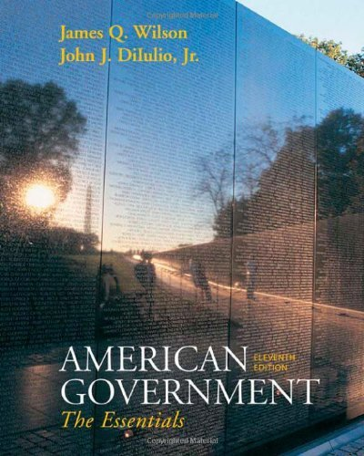 Read Online American Government: The Essentials: 11th (eleventh) Edition Text fb2 ebook