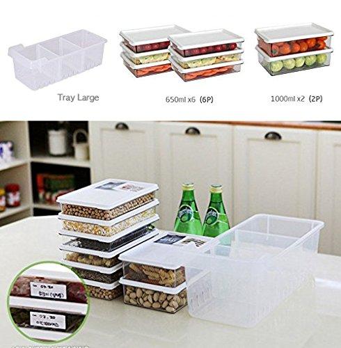 nicetoday cocina organizador de frigorífico, frigorífico y ...
