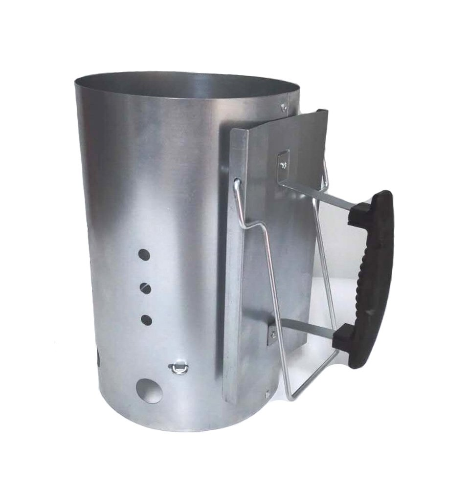 BBQ Future Rapidfire Chimney Starter - Perfect for All Charcoal Grills