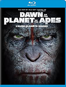 Dawn of the Planet of the Apes [Blu-ray 3D + Blu-ray + Digital Copy] (Bilingual)