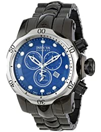 Invicta Men's 13907 Venom Analog Display Swiss Quartz Black Watch