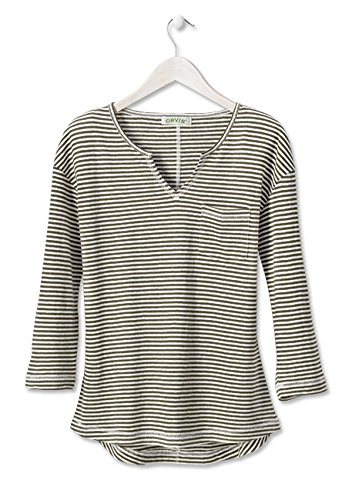 Orvis-HempCotton-Striped-Split-neck-Tee