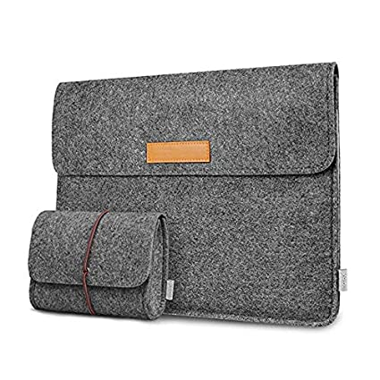 b9250c1e2988 Inateck 12.3-13 Inch Laptop Sleeve Case Compatible 2018 MacBook Air,  MacBook Pro 13'' 2018/2017/2016 (A1989/A1706/A1708)/Microsoft Surface Pro  ...