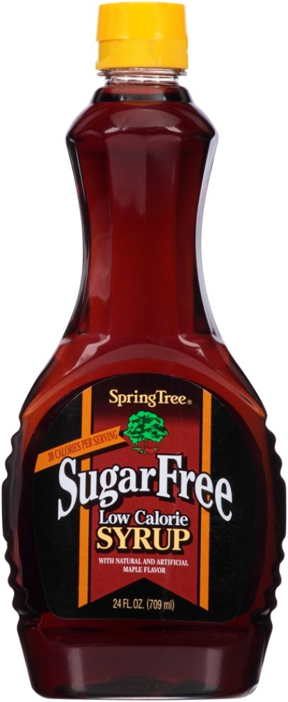 Spring Tree Sugar Free Syrup, 24 Ounce (Pack of 12) by Spring Tree