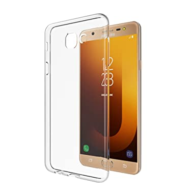 MTT Back Cover for Samsung Galaxy J7 Max and On Max  Transparent  Cases   Covers