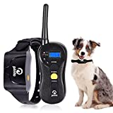 Cheap Training Collar, 2018 Rechargeable Dog Stop Barking Control Device for Small Medium Large Dogs Waterproof Remote Controlled No Bark Collar 1960ft Blind Operation with TONE/VIBRA/SHOCK for 5-160lbs Dog
