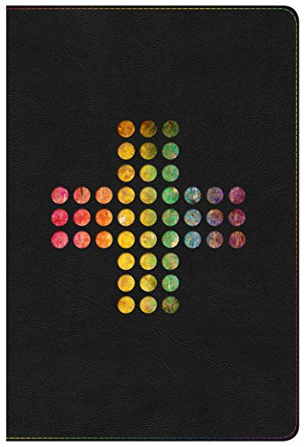- NIV Rainbow Study Bible, Pierced Cross LeatherTouch