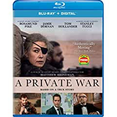 A PRIVATE WAR arrives on Blu-ray, DVD and Digital February 5 from Universal Pictures