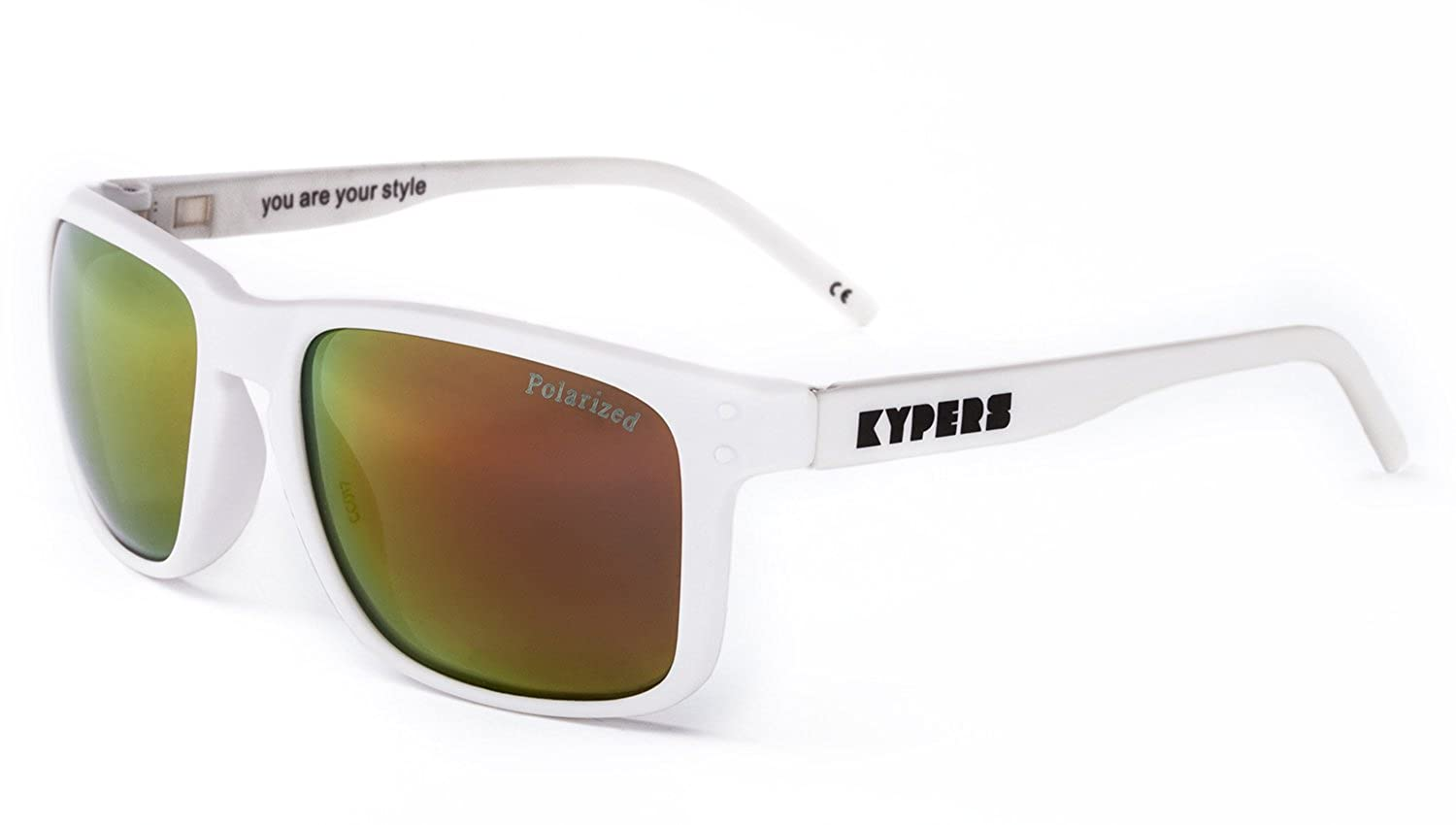 KYPERS Coconut, Gafas de Sol Unisex, Matte White-Red Mirror, 57: Amazon.es: Ropa y accesorios