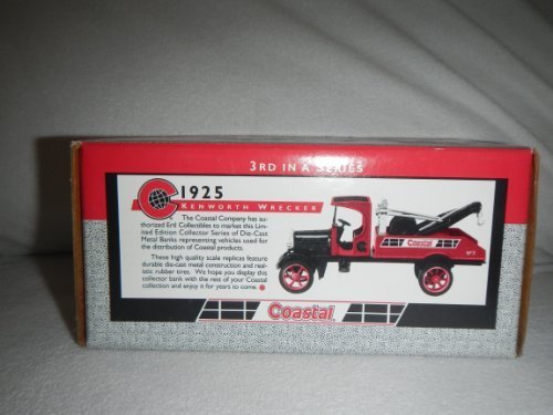 Ertl 3rd in series Coastal 1925 Kenworth wrecker bank