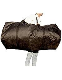 """50"""" x 20"""" x 20"""" Ice Canada Duffle Bag Cargo Hockey Bag Heavy Duty XL Large (Black)"""