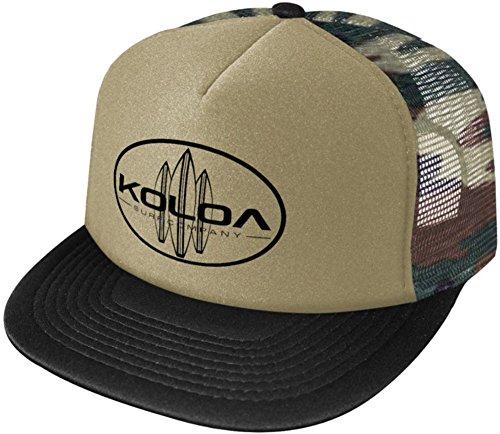 a464cea0cd8 Koloa Surf Classic Surfboards Poly-Foam Mesh Snapback High Profile Trucker  Hat