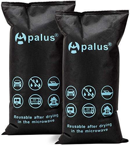 Apalus 2x1KG Silica Gel Auto-ontvochtigerzak, Droge Lucht, DMF-vrij, Herbruikbare Vochtvanger, Automobiele-ontvochtiger…