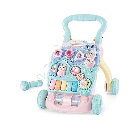 Andador de bebe Trolley para niños Los niños aprenden a ...