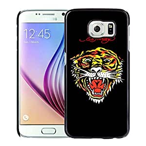 Fashionable And Durable Custom Designed Cover Case For Samsung Galaxy S6 With Ed Hardy 30 Black Phone Case