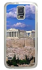 Samsung Galaxy S5 Acropolis Border Buildings PC Custom Samsung Galaxy S5 Case Cover Transparent