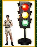 Plastic Mini 3 Sided Party Traffic Light UL Listed