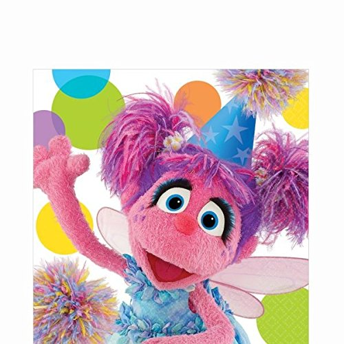 Amscan Abby Lunch Napkins, - Party Cadabby Abby Birthday