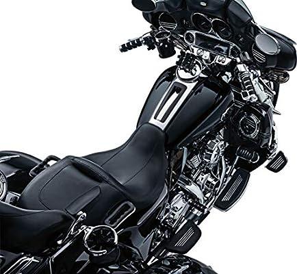 1 Pair Kuryakyn 6321 Premium ISO Handlebar Grips for Electronic Throttle Control Gloss Black 2008-19 Harley-Davidson Motorcycles