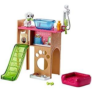 51ipKCs18KL. SS300  - Barbie Pet Room & Accessories Playset