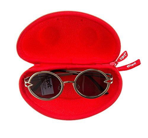 ZIPIT Beast Box Glasses Case, Red Photo #4