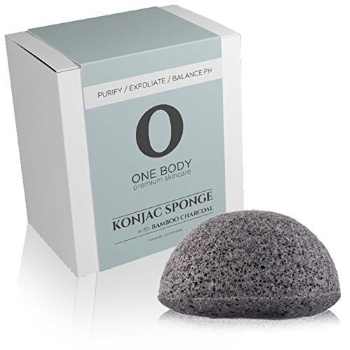 one-body-skincare-konjac-sponge-facial-exfoliator-with-bamboo-charcoal-100-natural-gentle-safe-for-s