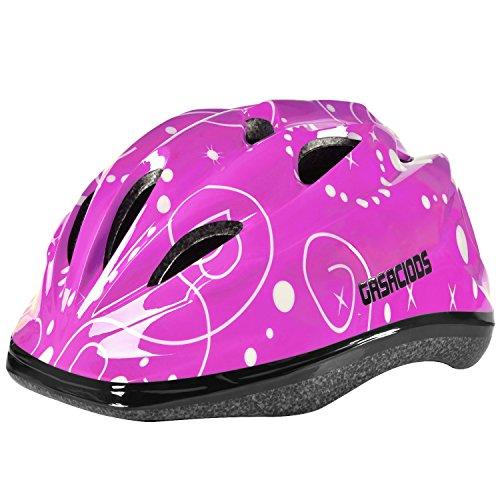 GASACIODS Kids Child Adjustable Safety Helmet for Scooter Skateboard Rollerblading Inlineskating Cycling Bike Mutli-Sport for 3-8 Year Old Girls/Boys