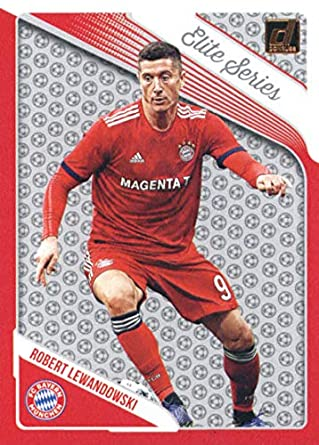 cd3d981eb6c 2018-19 Donruss Elite Series Soccer #6 Robert Lewandowski FC Bayern Munich  Official Panini
