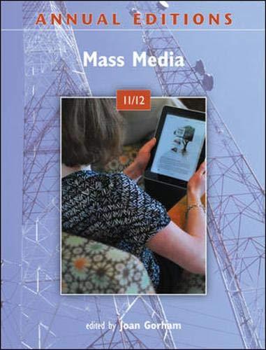 Annual Editions: Mass Media 11/12