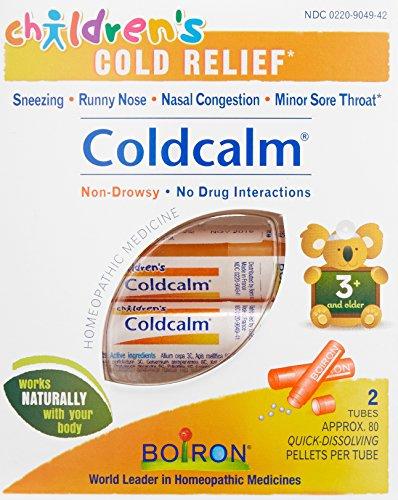 Children's Coldcalm Pellets 80 pellets 2 tubes