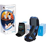 Aircast AirHeel Ankle Support Brace and Dorsal Night Splint (DNS) Care Kit, Small