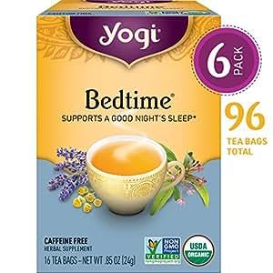 Yogi Tea - Bedtime - Supports a Good Night's Sleep - 6 Pack, 96 Tea Bags  Total