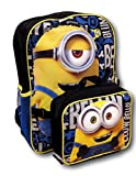 Despicable Me Minions Backpack with Detachable Insulated Lunch Box