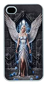 IPhone 4S Cases Imprisoned Angel Polycarbonate Hard Case Back Cover for iPhone 4/4S White