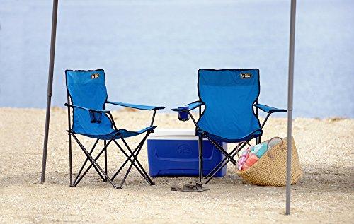 Quik Chair Folding Chair, Blue