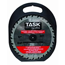 Task Tools T24701 Task Signature Circular Saw Blade, Ripping, 5/8-Inch Arbor, 10-Inch