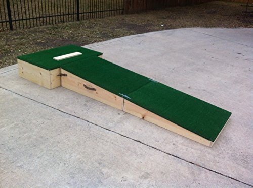 Pitching Mound (Portable Pitching Mound 10 inch for High School and Up)