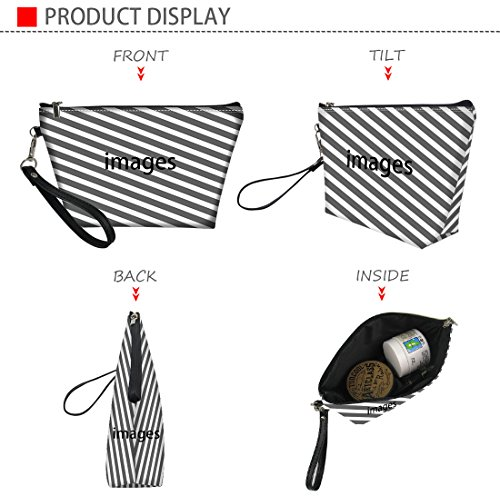 425de5390903 Bigcardesigns Faux Leather Make-up Bags Women Ladies Cosmetic Pouch ...