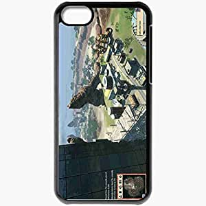 Personalized iPhone 5C Cell phone Case/Cover Skin Tropico 4 Black