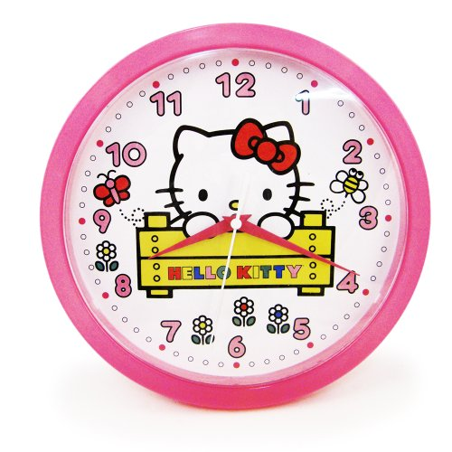 HELLO KITTY Kids Decorative Analog Wall Clock