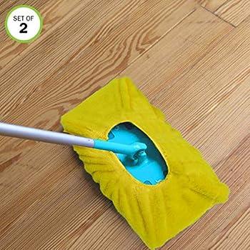 Amazon Com Evelots Mop Sweeper Pad Microfiber Reusable