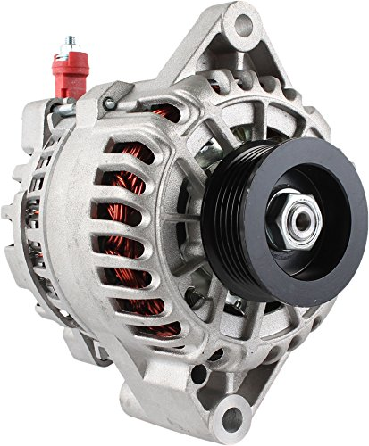DB Electrical AFD0075-220 New High output Alternator For 6G Series IR/IF 12V 220Amp Ford Mustang 3.8L 3.8 01 02 03 04 2001 2002 2003 2004 1R3U-10300-AA 1R3U-10300-AB 1R3U-10300-AC 1R3U-10300-AD GL-449