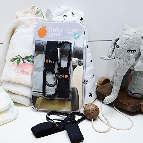 miniatura 7 - Ganci per Passeggino, Baby Uma - Appendi la spesa & le borse in tutta sicurezza
