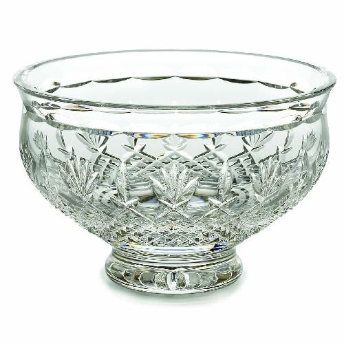 Killarney Crystal (Waterford Crystal Killarney 8-Inch Bowl)