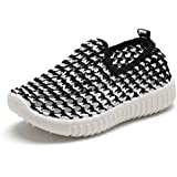 EQUICK Kids Slip-on Casual Sneakers Breathable...